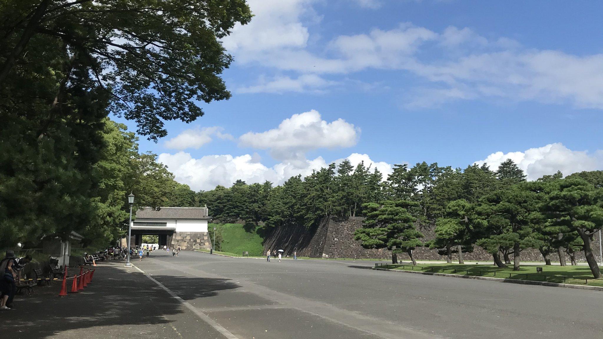 Let's enjoy running in TOKYO